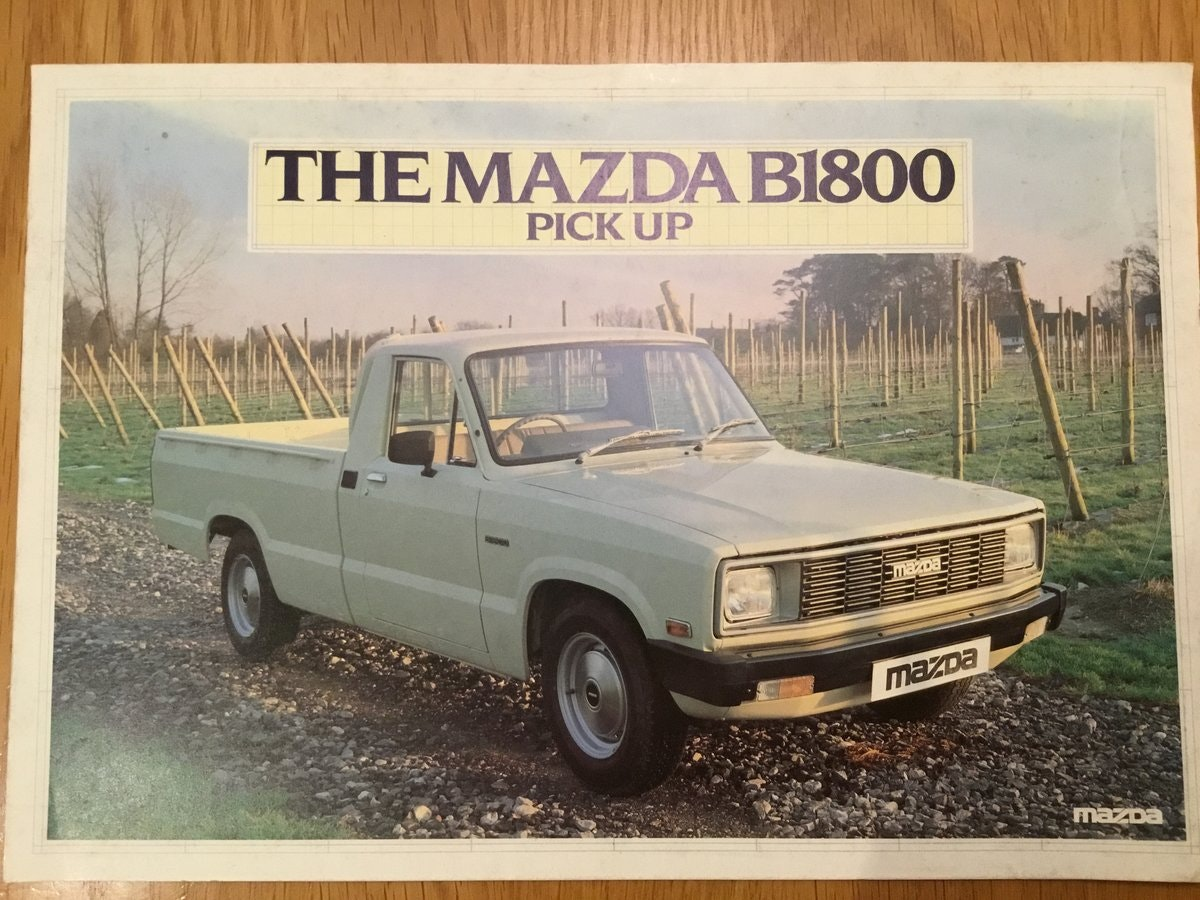 1983 Mazda pick up B1800 For Sale (picture 1 of 1)