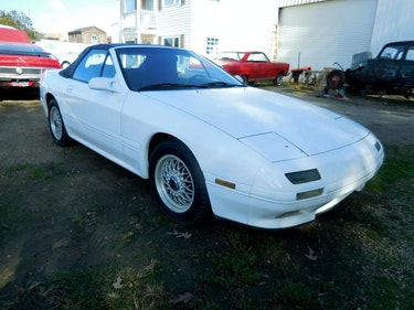 Picture of 1991 Mazda RX-7 Convertible clean Ivory(~)Black 5 spped M $6 For Sale