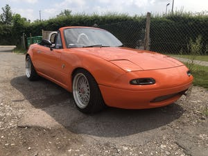 1997 Mazda Mx5 1.8is solid no welding no rust For Sale (picture 1 of 12)