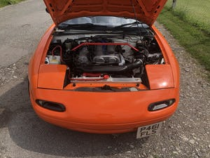1997 Mazda Mx5 1.8is solid no welding no rust For Sale (picture 7 of 12)