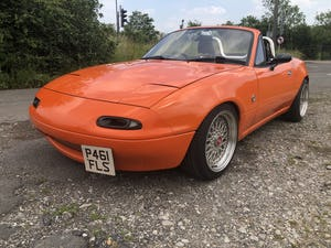 1997 Mazda Mx5 1.8is solid no welding no rust For Sale (picture 6 of 12)