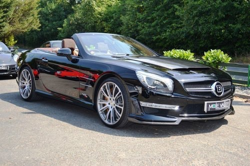 2013 Mercedes Brabus 800 1 of 1 RHD ever made. For Sale (picture 1 of 6)