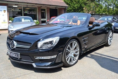 2013 Mercedes Brabus 800 1 of 1 RHD ever made. For Sale (picture 3 of 6)