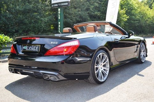2013 Mercedes Brabus 800 1 of 1 RHD ever made. For Sale (picture 5 of 6)