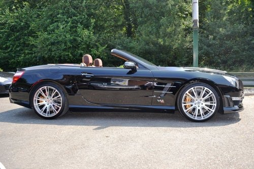 2013 Mercedes Brabus 800 1 of 1 RHD ever made. For Sale (picture 6 of 6)