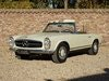 Picture of 1967 Mercedes Benz 230SL Pagode first owner! matching numbers For Sale