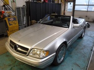 Picture of 1997 Mercedes 600SL roadster '97  V12 For Sale