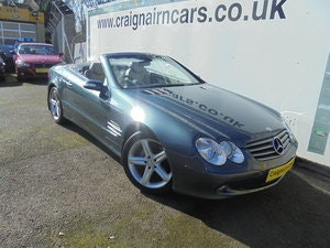 Picture of 2004 MERCEDES SL350 Convertible 49000 Miles Panoramic Roof FSH For Sale