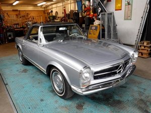 Picture of 1965 Mercedes Benz 230SL silver '65 For Sale