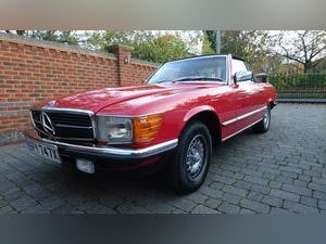 1982 Classic R107 Mercedes 280 SL For Sale (picture 1 of 5)