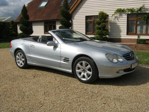 Picture of 2003 MERCEDES BENZ SL500 AUTOMATIC. ELECTRIC HARD TOP ROOF.  SOLD
