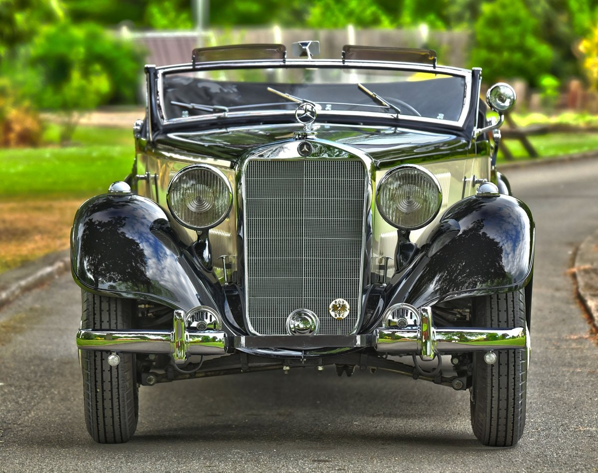 1939 Mercedes 320 Cabriolet A. For Sale (picture 1 of 6)