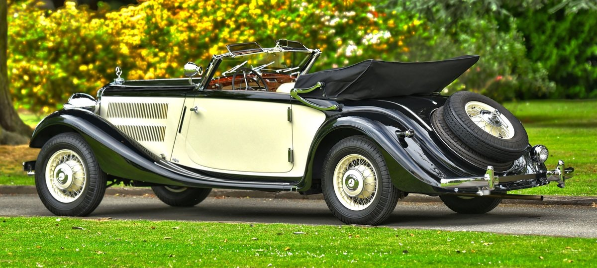1939 Mercedes 320 Cabriolet A. For Sale (picture 4 of 6)