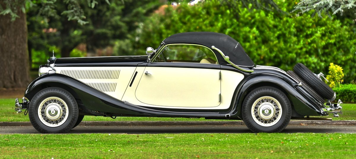 1939 Mercedes 320 Cabriolet A. For Sale (picture 6 of 6)