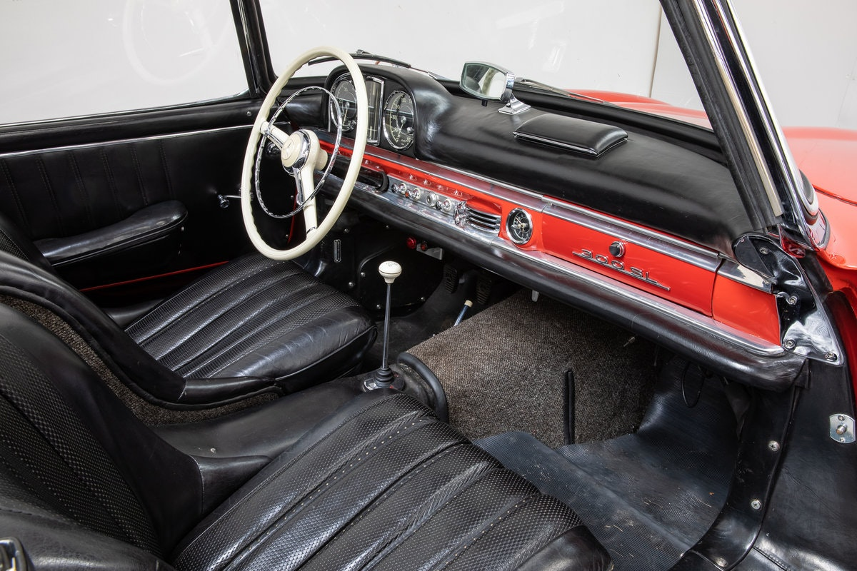 Mercedes Benz 300SL Roadster 1957 For Sale (picture 5 of 6)