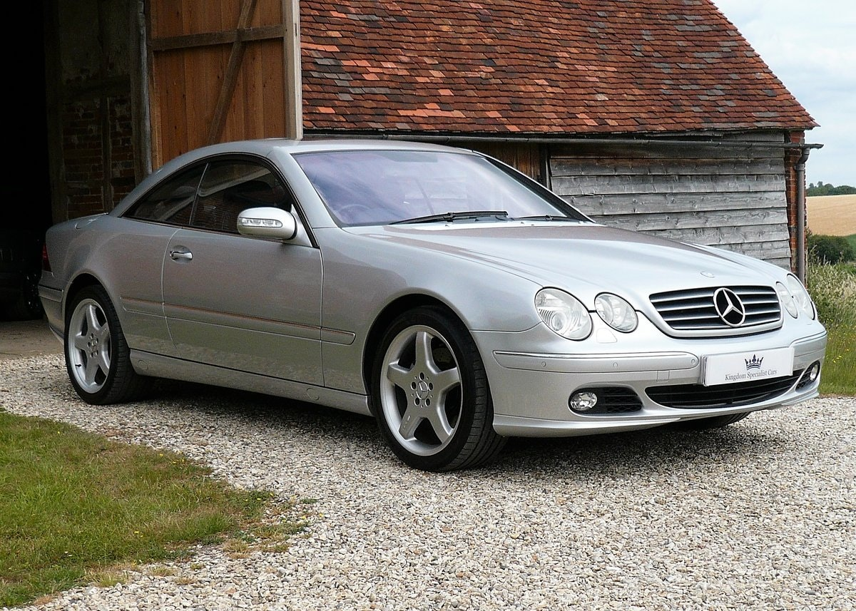 2003 Mercedes CL500, low mileage example with high spec SOLD (picture 1 of 6)