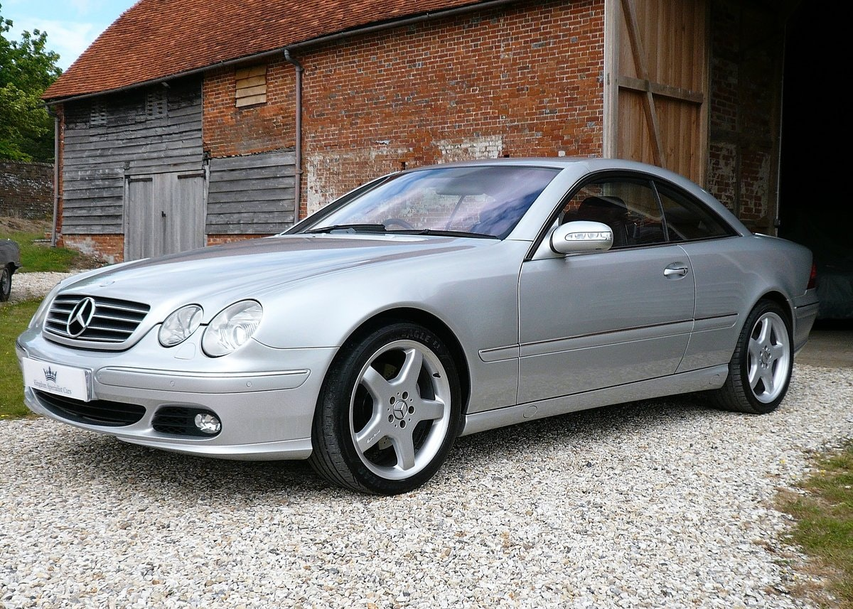 2003 Mercedes CL500, low mileage example with high spec SOLD (picture 3 of 6)