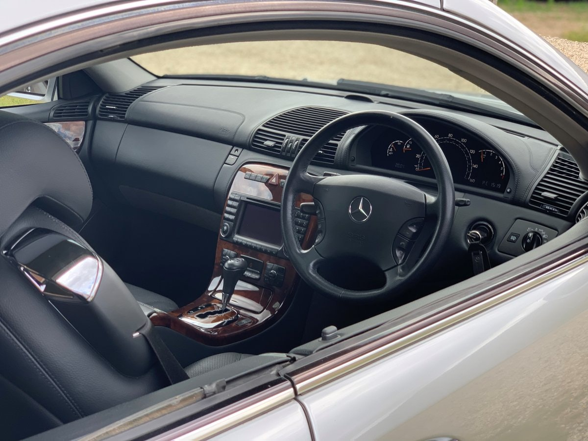 2003 Mercedes CL500, low mileage example with high spec SOLD (picture 4 of 6)