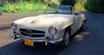 1957 Mercedes 190SL Clean Ivory(~)Navy Driver Solid $89k
