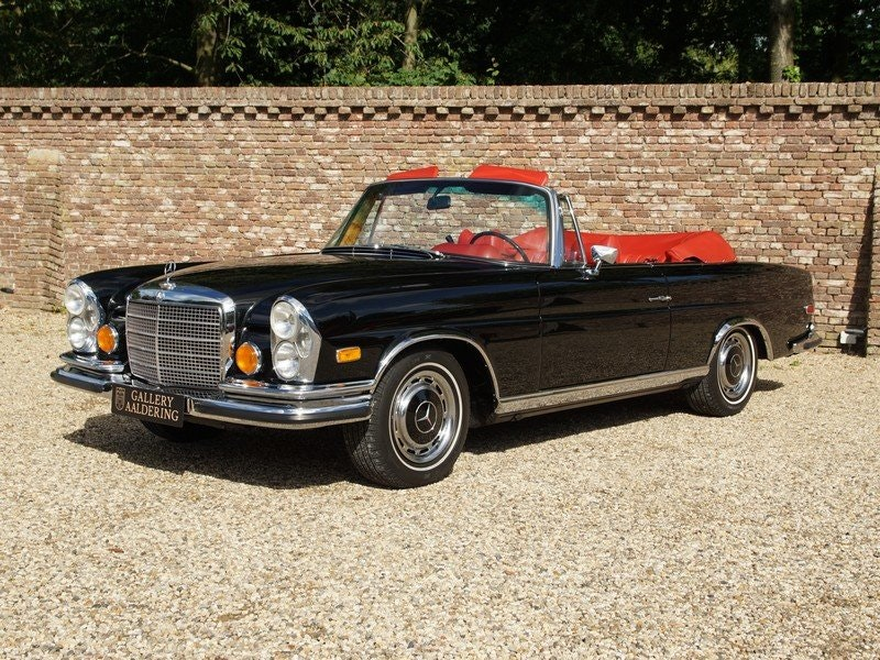 1971 Mercedes Benz 280SE 3.5 Convertible Matching numbers For Sale (picture 1 of 6)