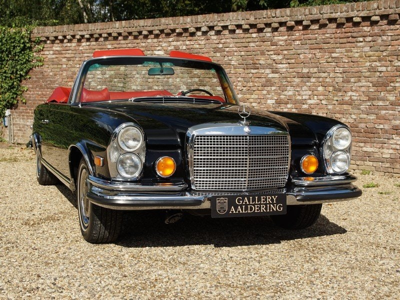 1971 Mercedes Benz 280SE 3.5 Convertible Matching numbers For Sale (picture 5 of 6)