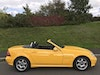 2001 (51) Mercedes Benz SLK230 finished in Rare Yellowstone