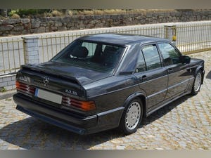 1986 Mercedes 190E 2.3 16V For Sale (picture 3 of 6)