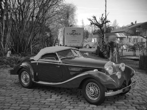 Picture of 1937 Mercedes 320n Special Roadster, One of Nine cars built! For Sale
