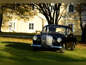 1962 Mercedes 180 D Ponton - fully restored, LHD For Sale (picture 1 of 4)