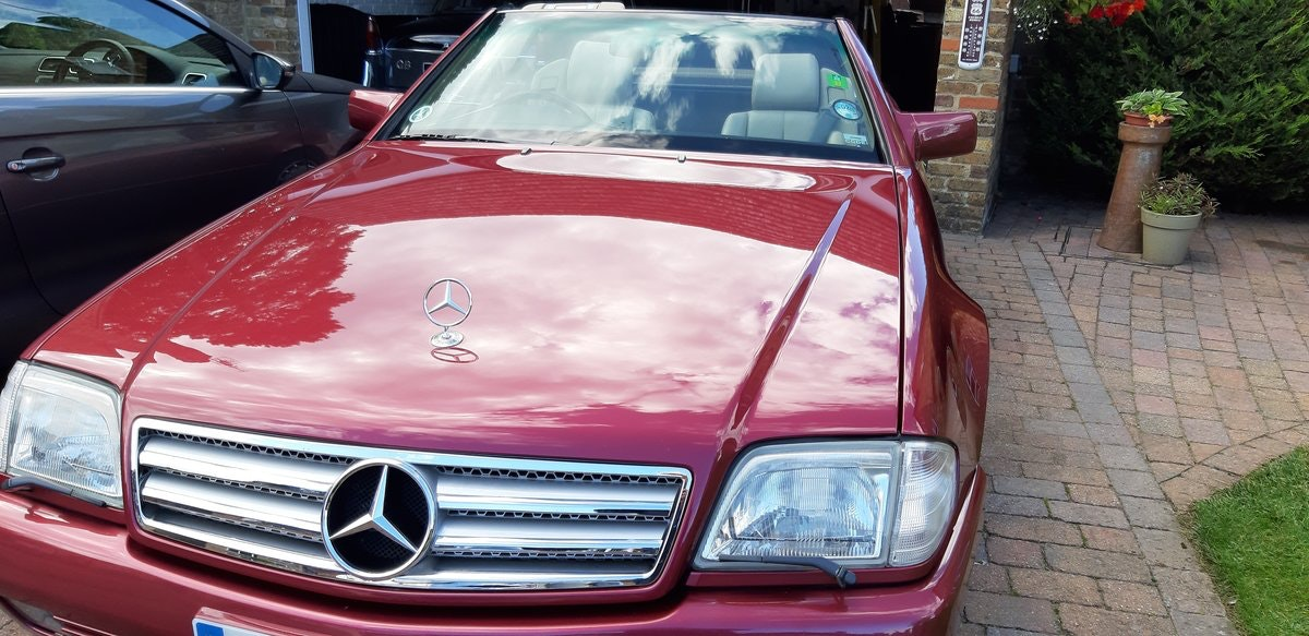 1990 SOLD - 300SL 24v Tourer with hard top roof option. SOLD (picture 1 of 6)