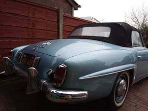1956 Mercedes benz 190sl roadster For Sale (picture 5 of 6)