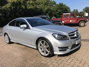 Picture of 2014 (64) Mercedes Benz C180 (1.6) AMG Sport Premium Coupe For Sale
