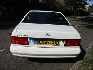 1996 MERCEDES SL 320  96   3 OWNERS   78,800 MILES ONLY For Sale (picture 6 of 28)