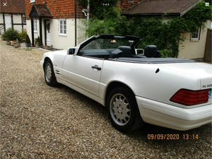 1996 MERCEDES SL 320  96   3 OWNERS   78,800 MILES ONLY For Sale (picture 11 of 28)