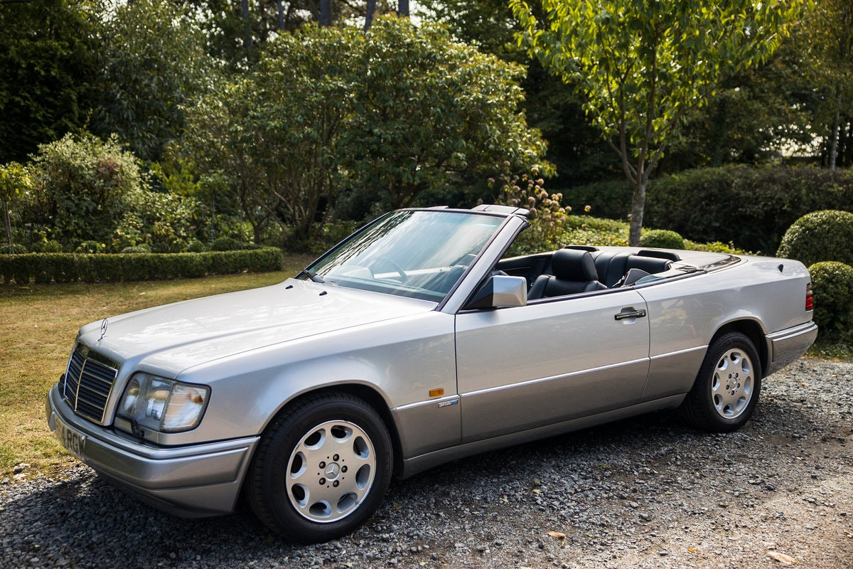 1994 Rare E320 Cabriolet Sportline 3 f/keepers 79k mls For Sale (picture 1 of 8)