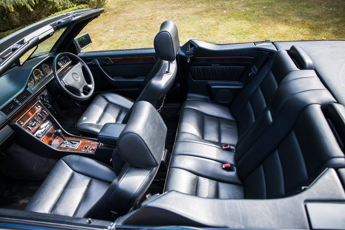 1994 Rare E320 Cabriolet Sportline 3 f/keepers 79k mls For Sale (picture 2 of 8)