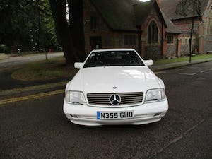 1996 MERCEDES SL 320  96   3 OWNERS   78,800 MILES ONLY For Sale (picture 18 of 28)