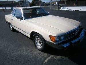 Picture of Mercedes Benz 380SL 1981 V8 3.8L For Sale