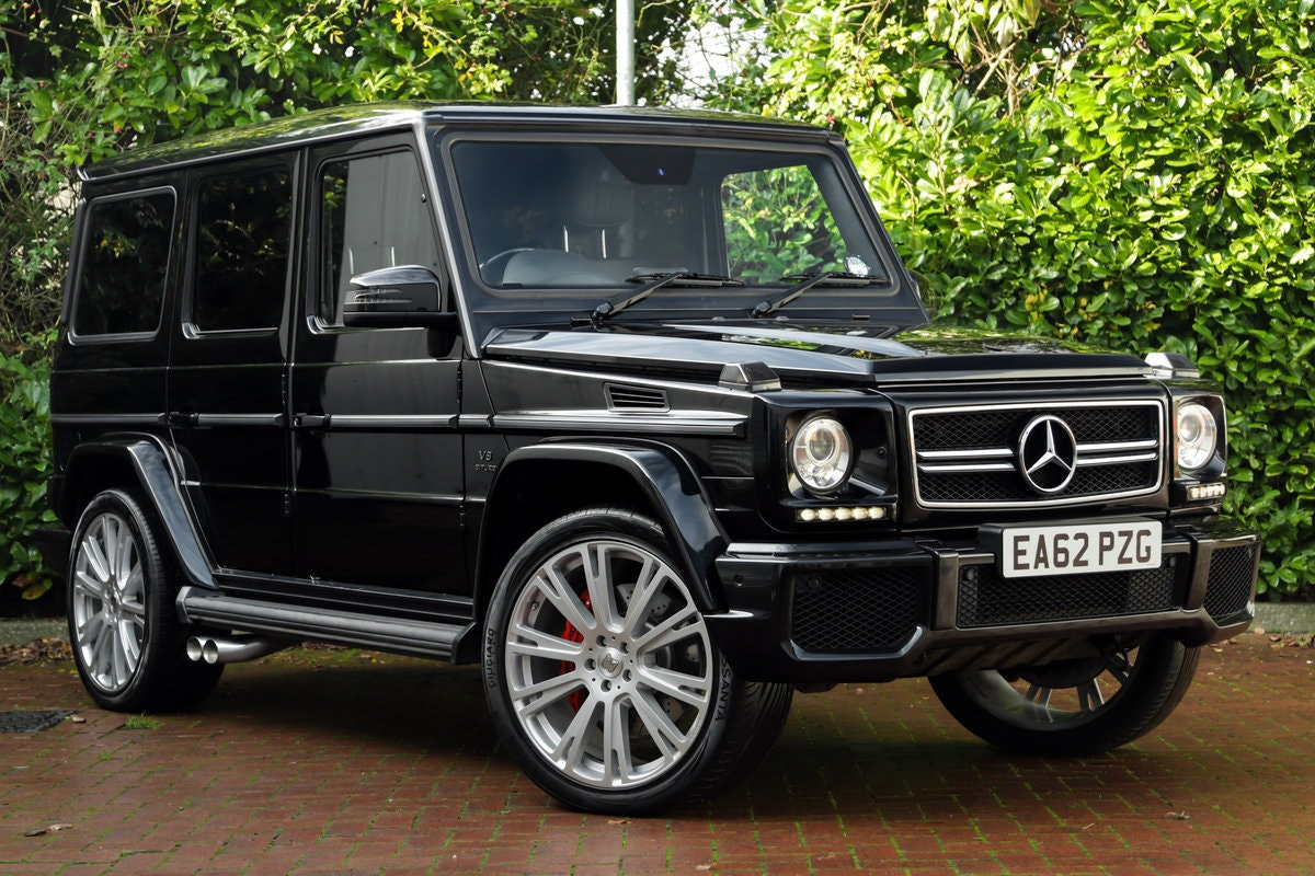 2012 Mercedes G63 AMG Brabus For Sale (picture 1 of 6)