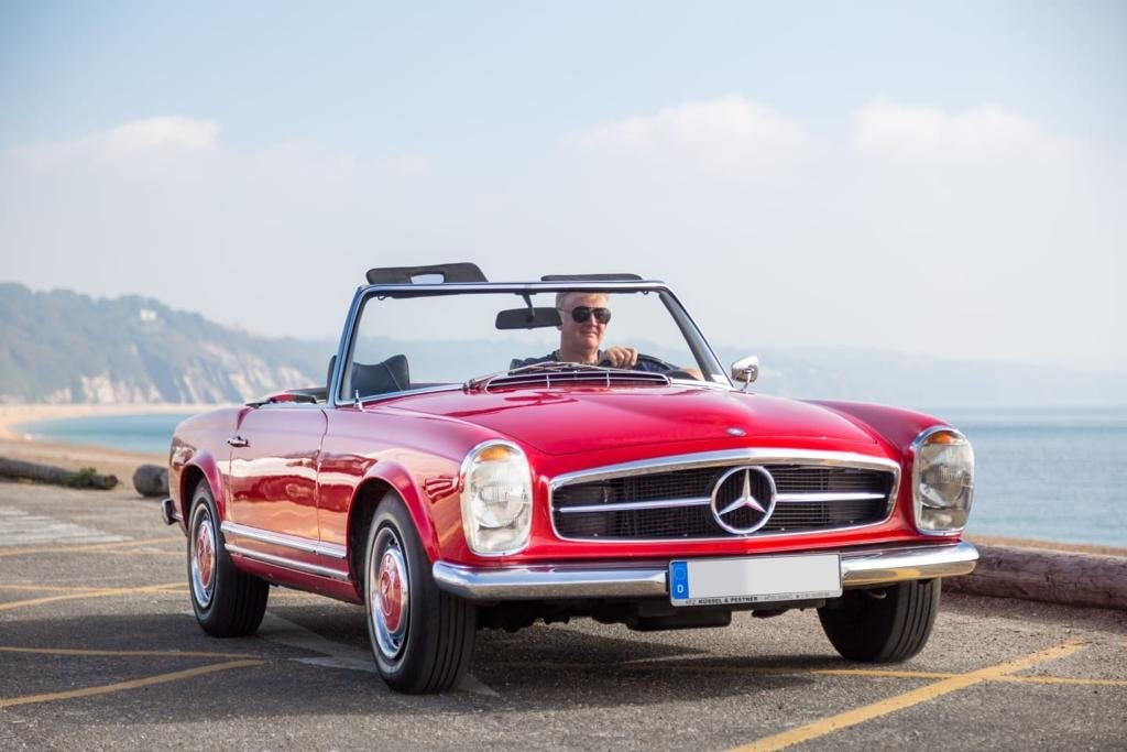 1966 LHD Mercedes 230sl For Sale (picture 1 of 6)