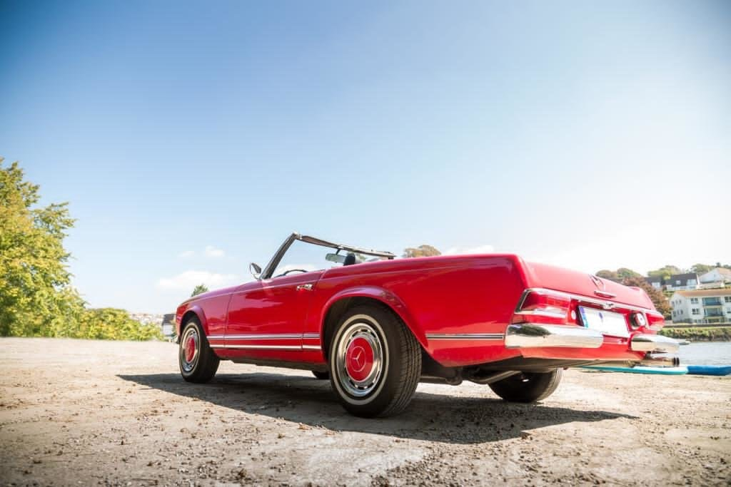 1966 LHD Mercedes 230sl For Sale (picture 2 of 6)