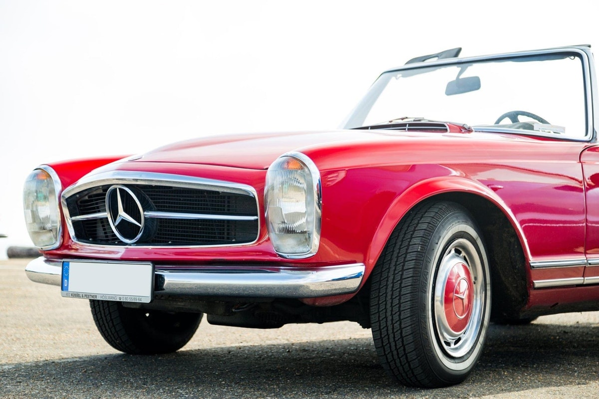 1966 LHD Mercedes 230sl For Sale (picture 4 of 6)