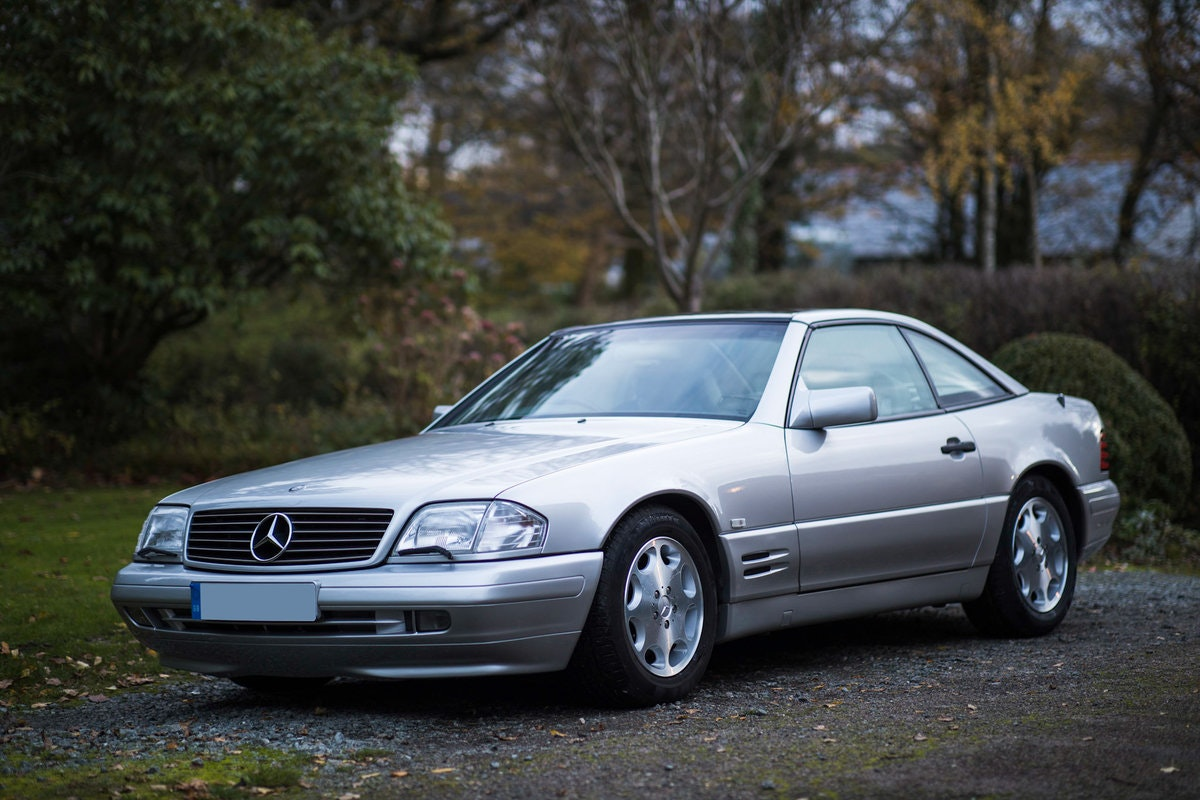 1996 Mercedes SL500 33k miles Panoramic roof For Sale (picture 1 of 12)