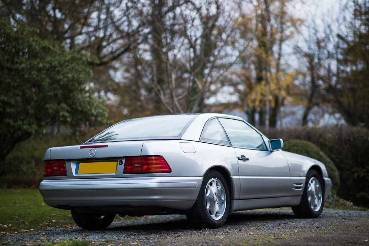 1996 Mercedes SL500 33k miles Panoramic roof For Sale (picture 2 of 12)