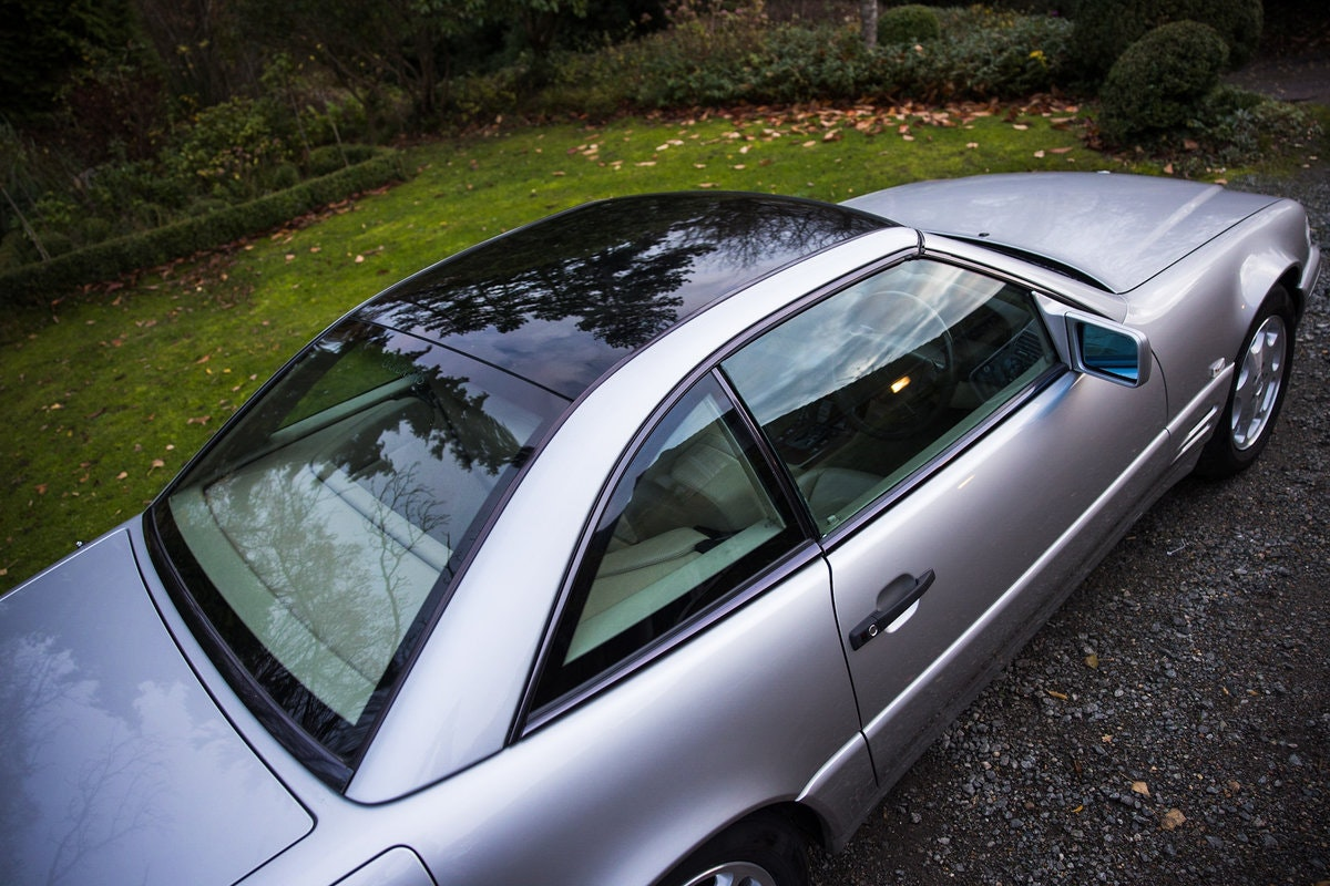 1996 Mercedes SL500 33k miles Panoramic roof For Sale (picture 8 of 12)