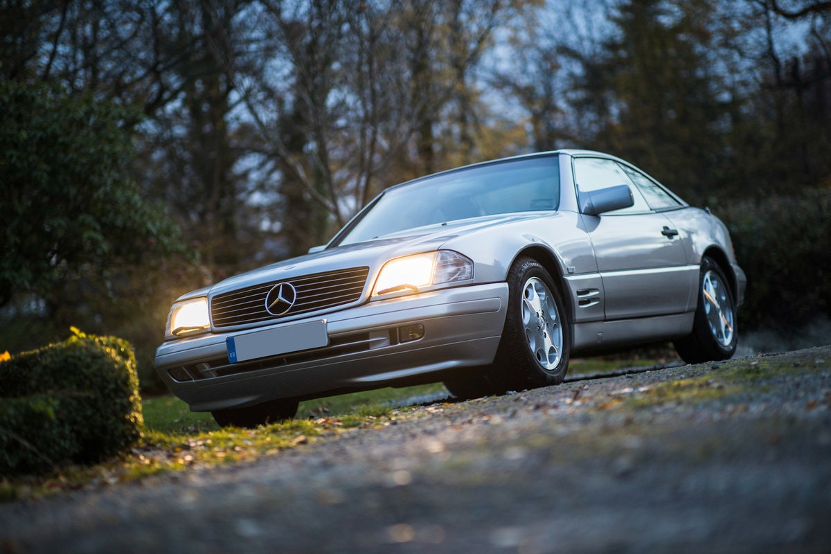 1996 Mercedes SL500 33k miles Panoramic roof For Sale (picture 12 of 12)