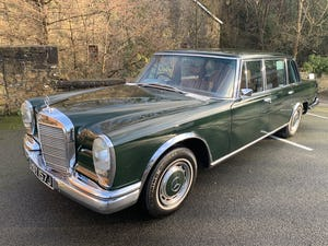 1971 MERCEDES 600 GROSSER  W100. For Sale (picture 1 of 22)