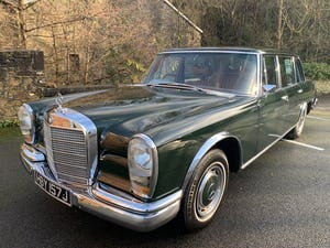 1971 MERCEDES 600 GROSSER  W100. For Sale (picture 2 of 22)