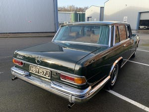 1971 MERCEDES 600 GROSSER  W100. For Sale (picture 7 of 22)