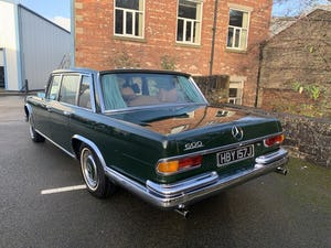 1971 MERCEDES 600 GROSSER  W100. For Sale (picture 9 of 22)